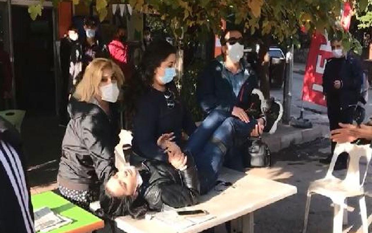 Aydın'da feci olay! Tartıştığı kız arkadaşını sokak ortasında bacağından bıçakladı