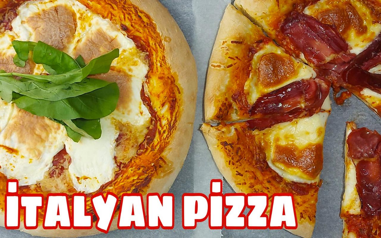 İtalyan pizzası nasıl yapılır?