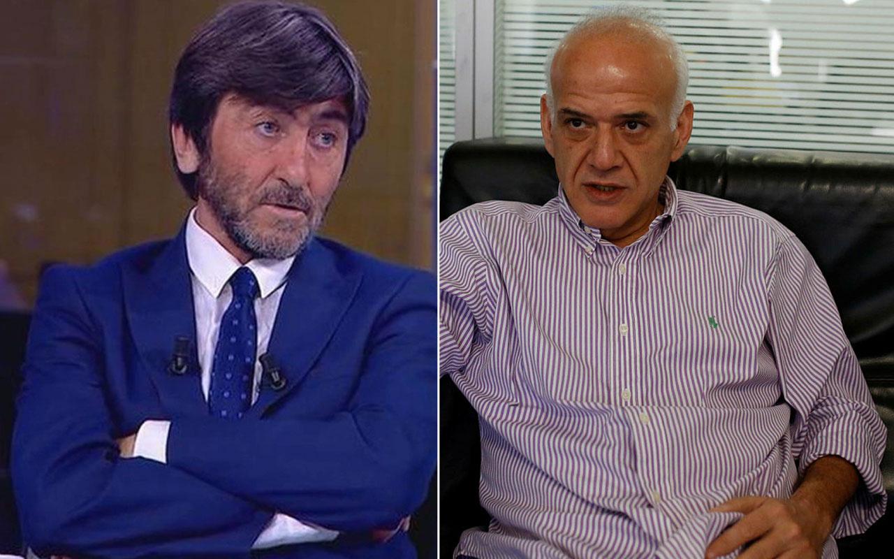 Ahmet Çakar'dan Rıdvan Dilmen'e: Kimsin lan sen Cumhurbaşkanı'nın adını kullanıyorsun