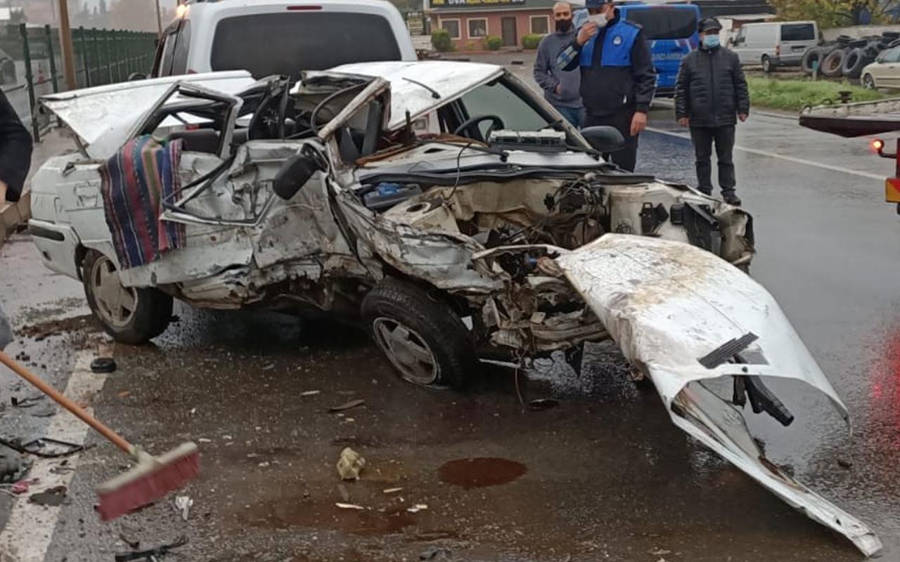 Yalova'da feci kaza! Altı araç birbirine girdi ölü ve çok sayıda yaralı var
