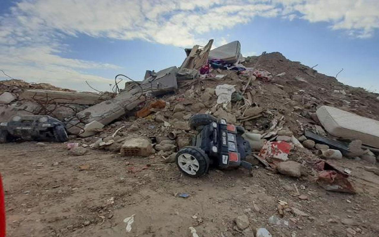 İsim isim ayrıldı! Depremde yıkılan binaların molozları koruma altında