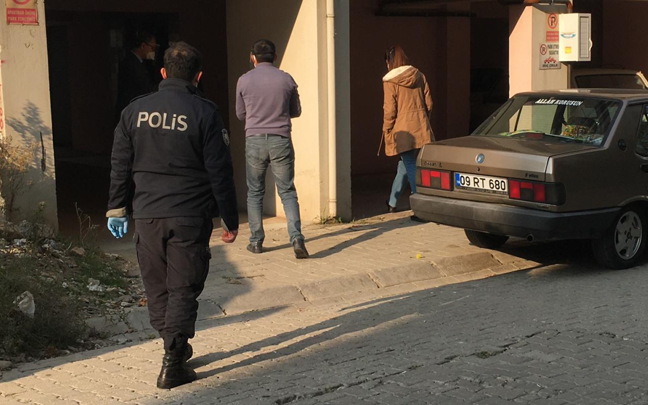 Aydın'da eşi hastanede korona tedavisi görüyordu evde kalp krizi yakaladı