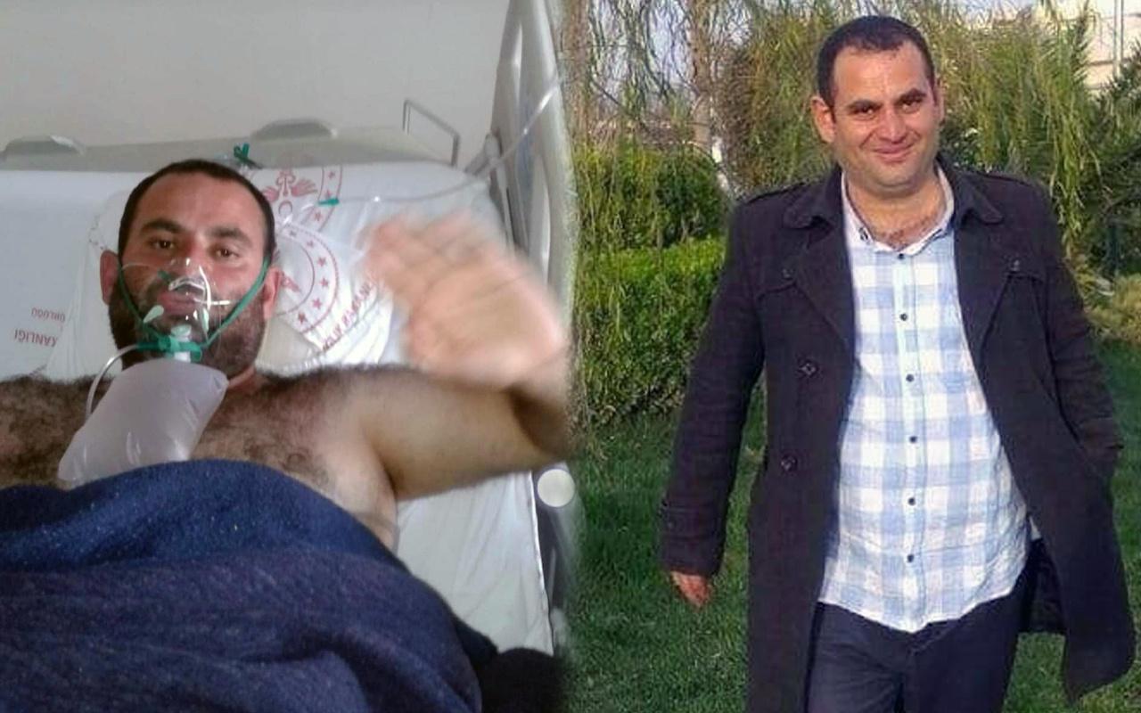 Mardin'de yürek yakan olay! Koronavirüsten ölmeden 2 saat önce eşinden...