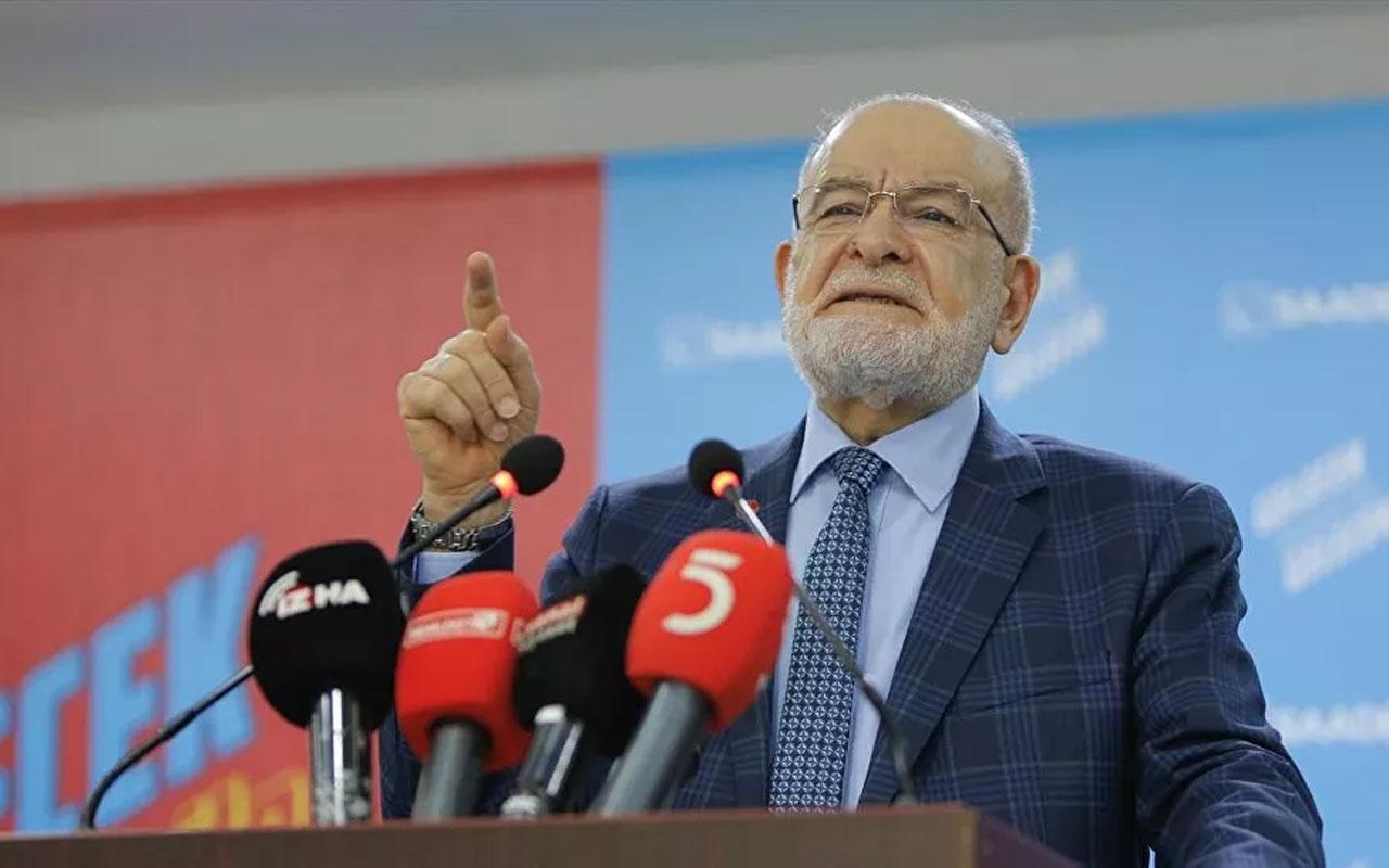 Saadet'in lideri Temel Karamollaoğlu uçtu! Asgari ücret açıklaması olay