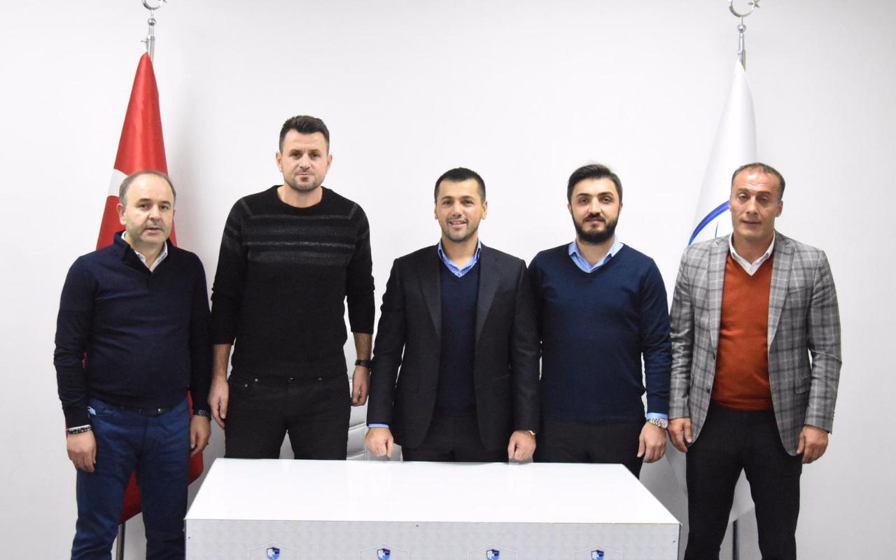 Hüseyin Çimşir, Erzurumspor'a imzayı attı