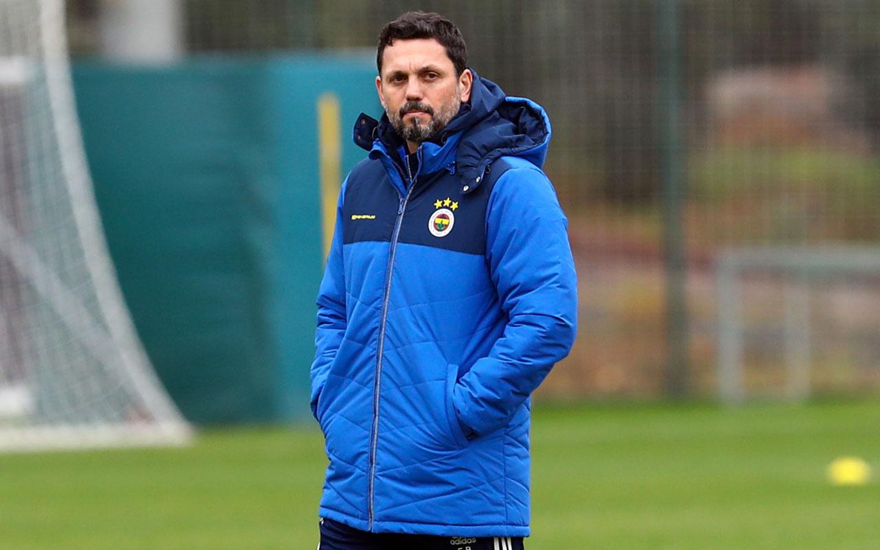 Erol Bulut kararını verdi! Fenerbahçe'de 3 isim gözden çıkarıldı