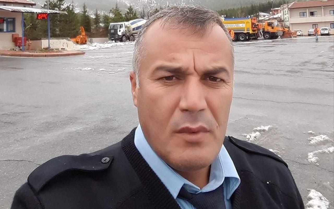 Mersin'de 2 çocuk babası polis memurundan acı haber geldi