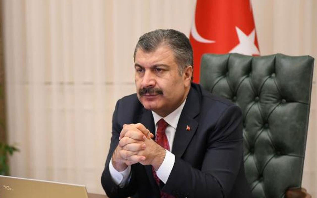 3 ilde yüzde 100 vaka artışı! Sağlık Bakanı Fahrettin Koca 7 ilin sağlık müdürüyle görüştü