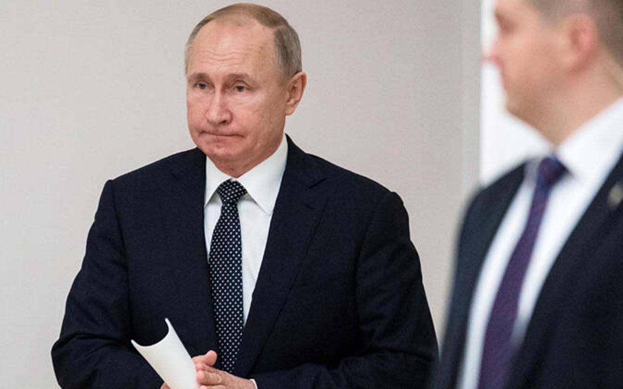Vladimir Putin'i terleten başkan sorusu