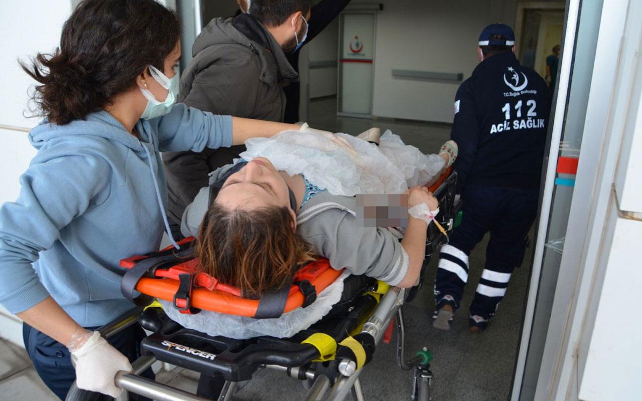 Aksaray'da tüfeğini temizlerken eşini vuran adam kaçtı