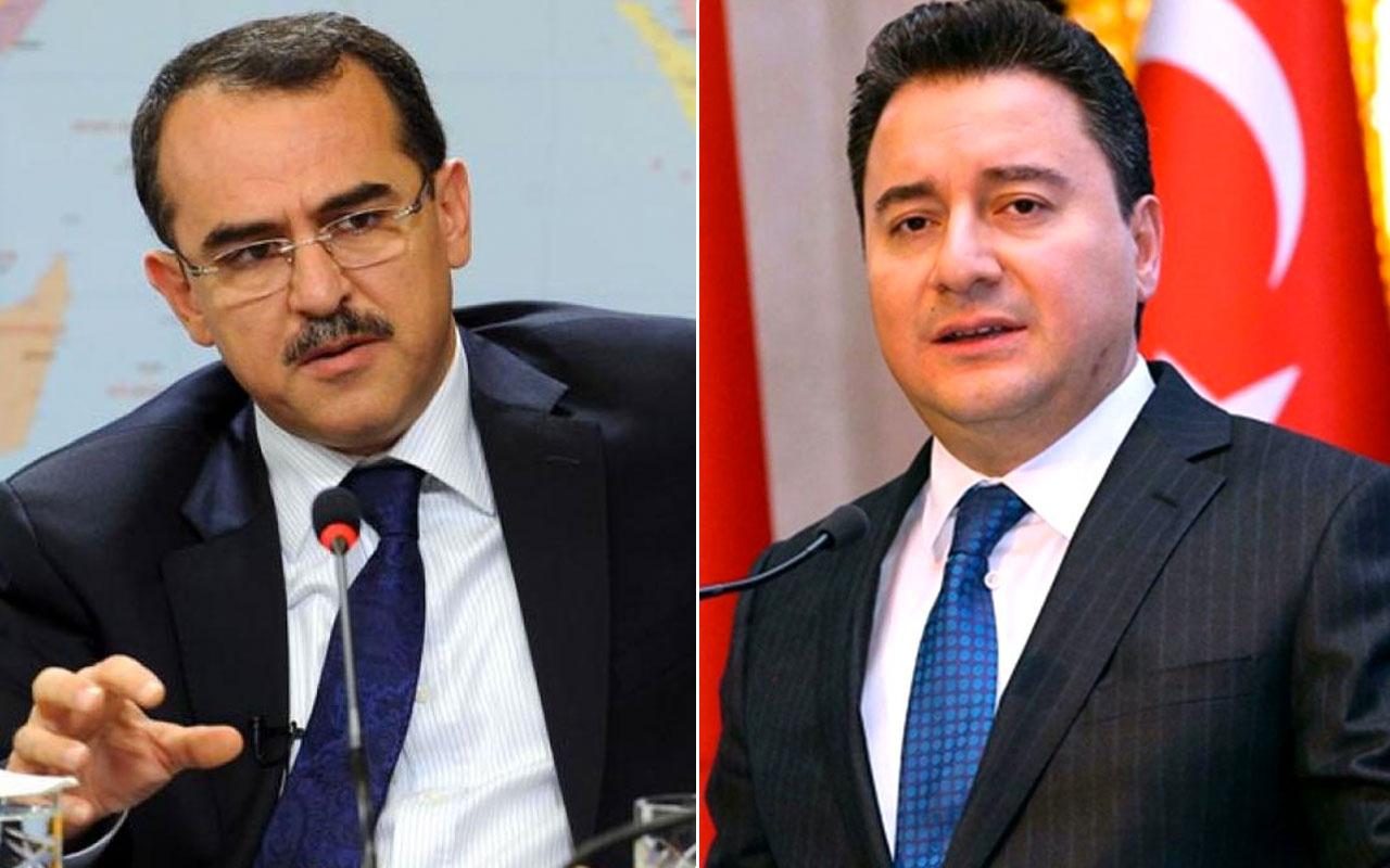 DEVA Partisi lideri Ali Babacan FETÖ sorusu! Sadullah Ergin'le ilgili ilk kez konuştu