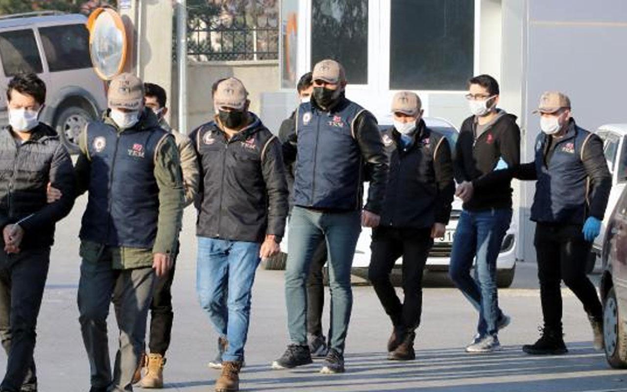 Eskişehir merkezli 4 ilde FETÖ operasyonu! 10 şüpheli gözaltına alındı