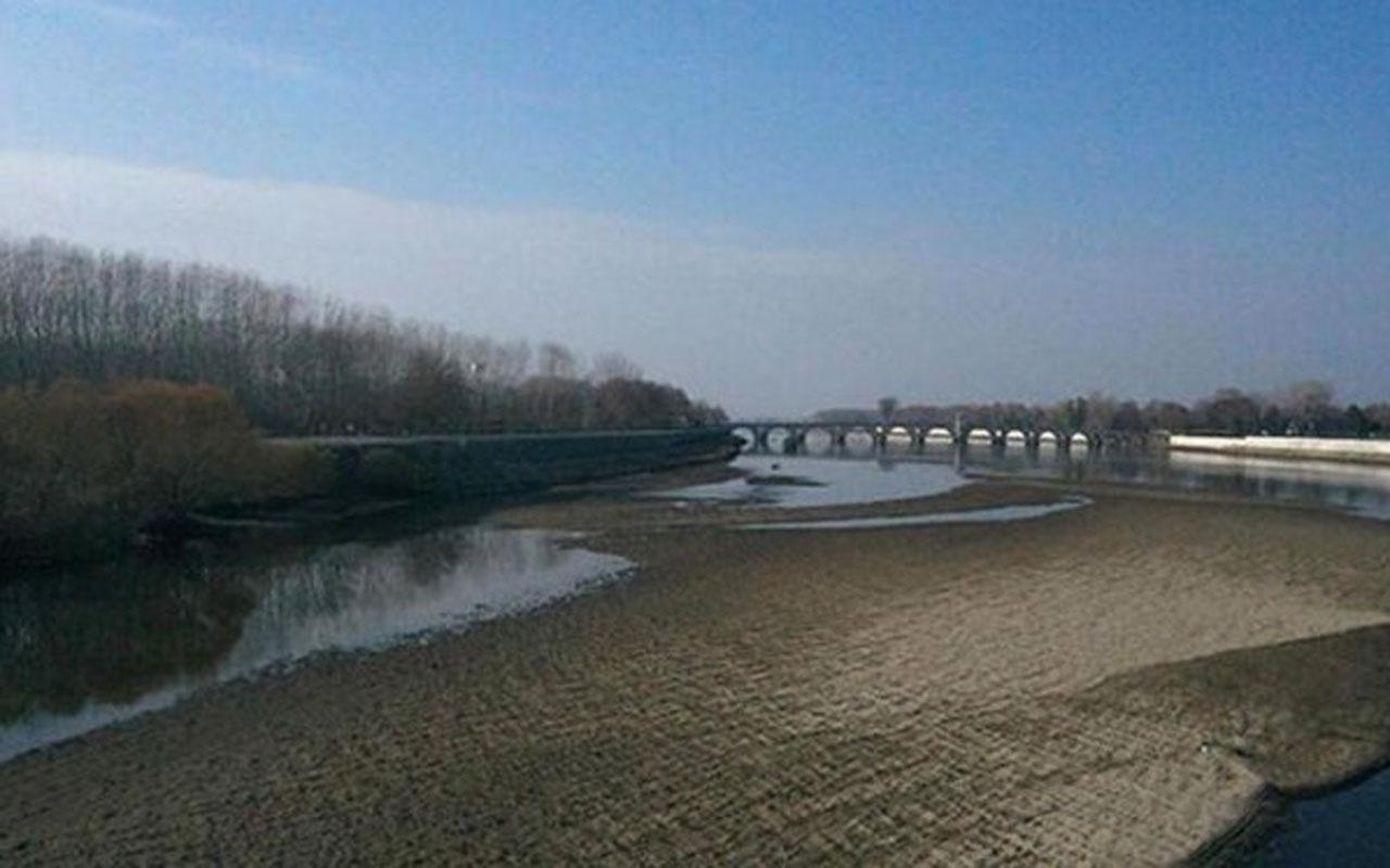 Yağışlar yarı yarıya azaldı! Edirne'de ise neredeyse hiç su kalmadı