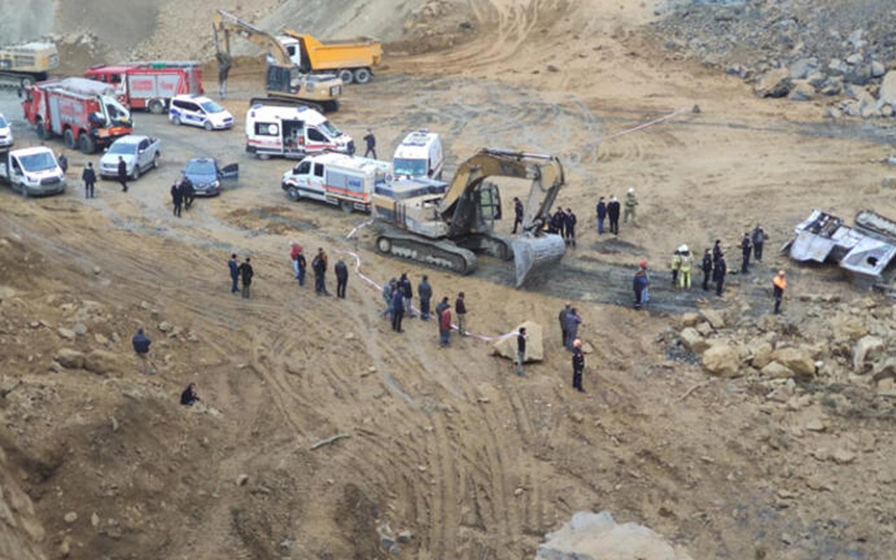 İstanbul Arnavutköy'de taş ocağında göçük! İki işçi feci şekilde can verdi
