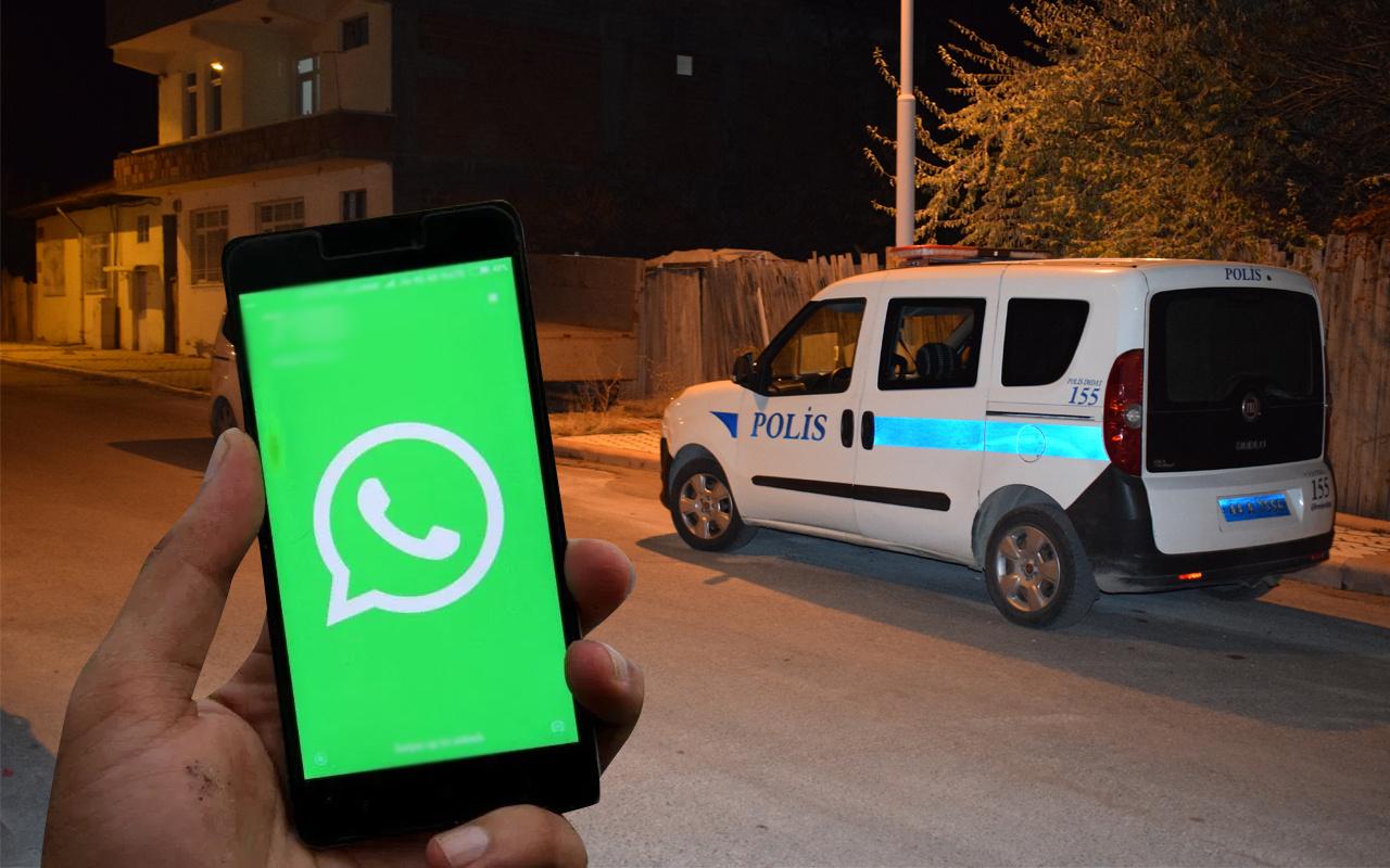 Malatya'da eşi ve ilişkisi bulunduğu kişiyi eve çağırdı! Whatsapp'tan durum yapıp paylaştı