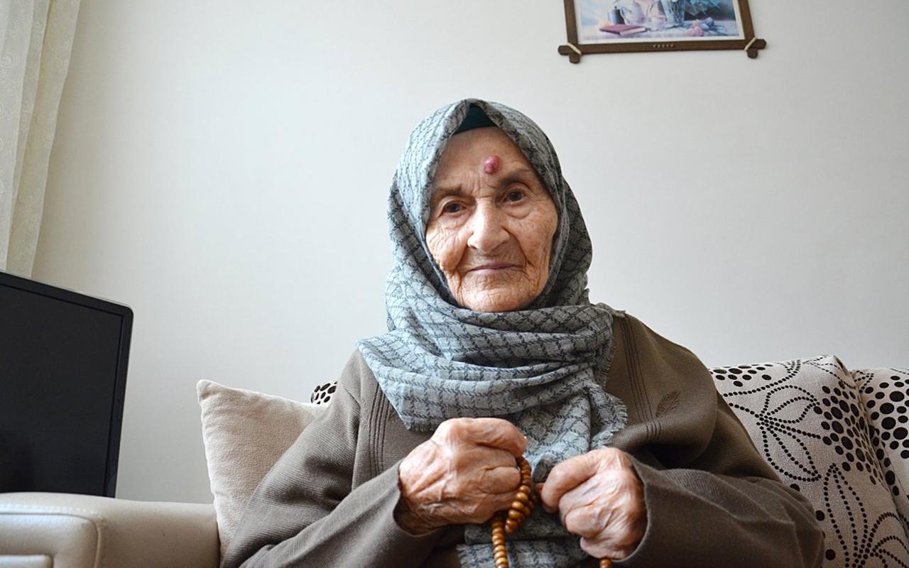 Şile'de 105 yaşında koronavirüsü yenmeyi başardı! 5 günde hastalığı atlattı