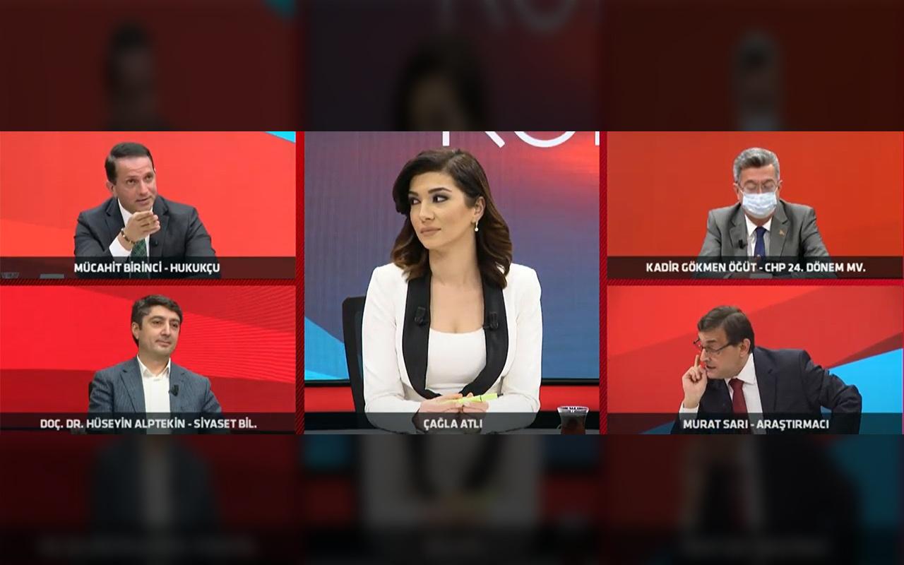 TV100'de saç baş yolduran tartışma!