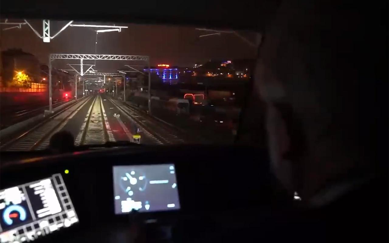 Çin'e giden ilk ihracat treni Ankara'dan geçti