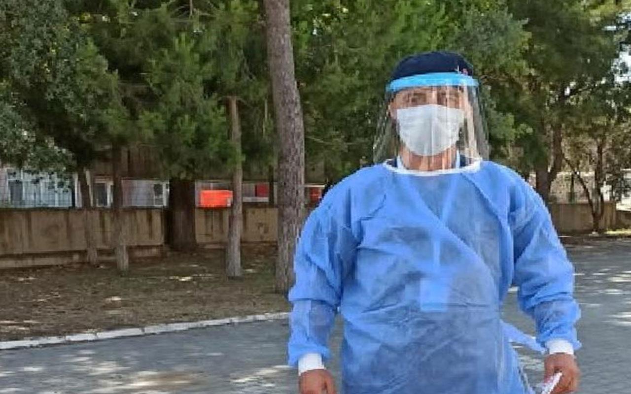 Bursa'da karantinadaki sağlıkçı baba ile kızının duygulandıran diyaloğu