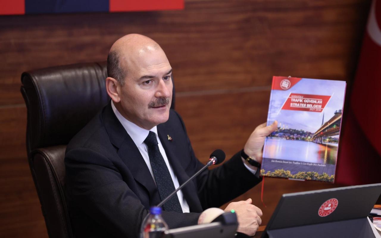 Süleyman Soylu: Trafik kazalarında hedefi tutturan iki ülkeden biriyiz