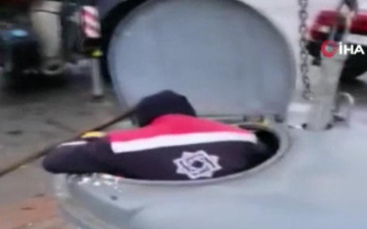 Konya'da çöp konteynerine düşmüş halde buldu! İçine girip kurtardı