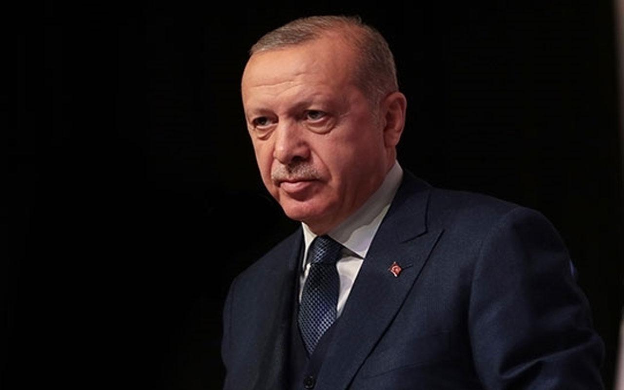 Cumhurbaşkanı Erdoğan'dan şehit annesine başsağlığı