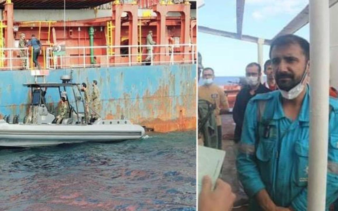 Darbeci Halife Hafter komutasındaki güçler, Türk gemisine el koydu