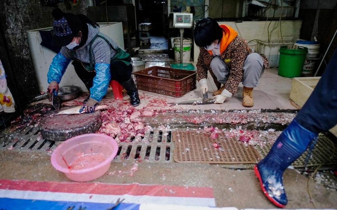 Kovid-19 dünyaya oradan yayılmıştı! Çin Vuhan'daki hayvan pazarı yeniden açıldı