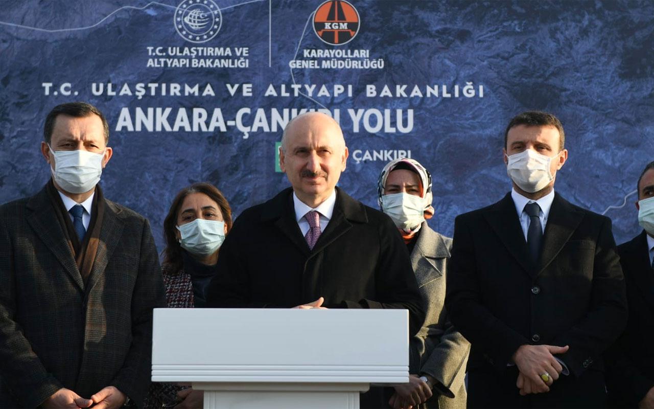Bakan Adil Karaismailoğlu: Ankara-Akyurt yolu 2021 yılında tamamlanacak