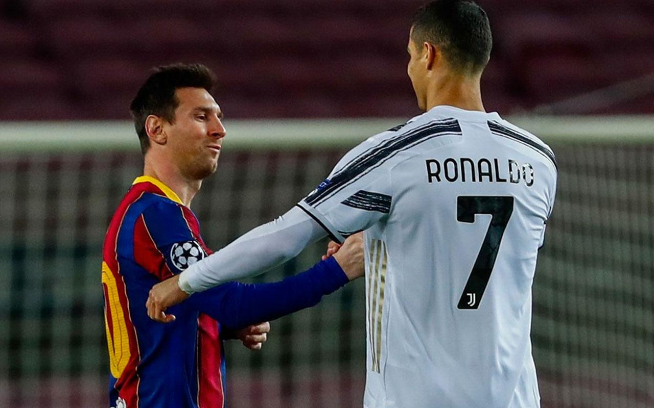 Ronaldo: Messi'yi hiçbir zaman rakip görmedim
