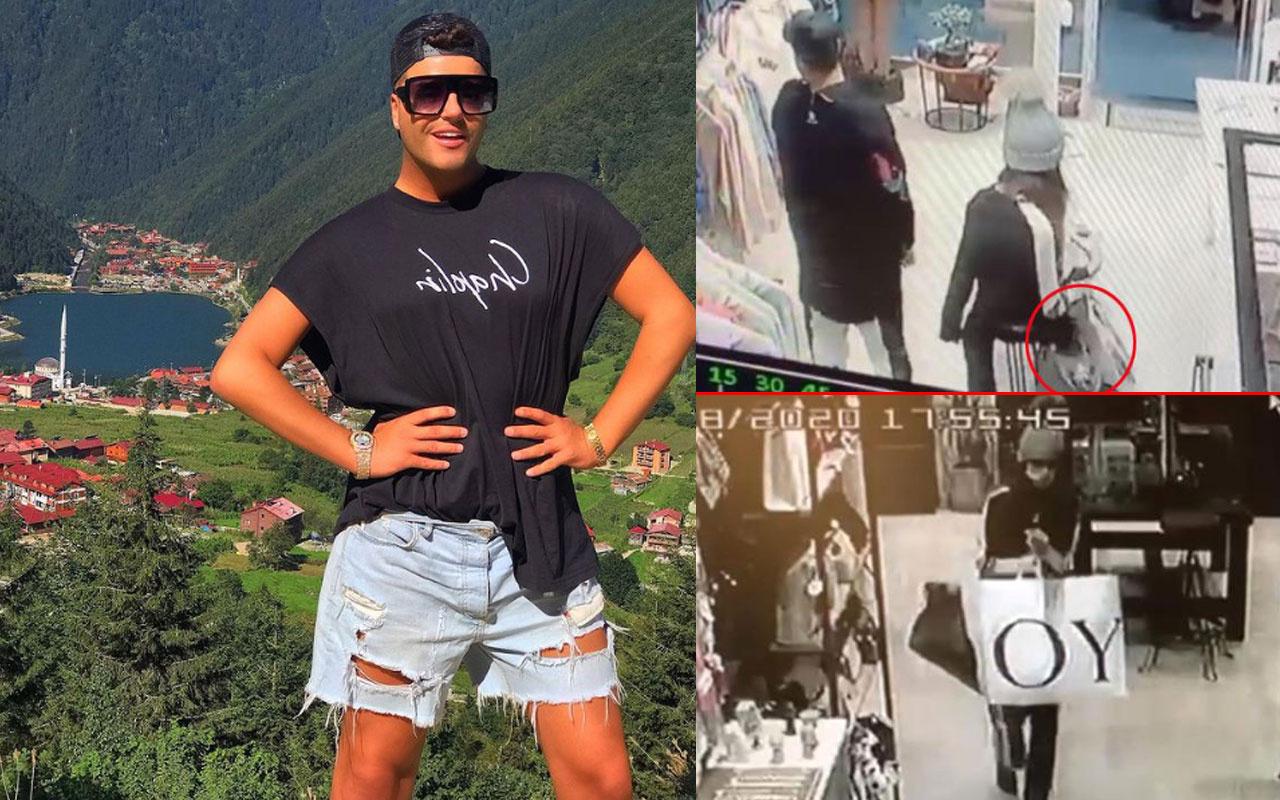 Hakan Kakız'a mağazada hırsızlık şoku! Çantasının çalınma anı kamerada