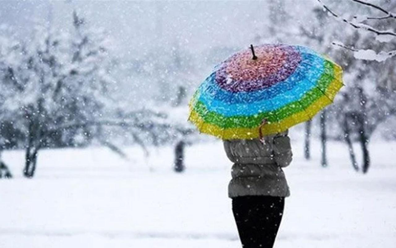 Meteoroloji bölge gölge uyardı! Beklenen kar yağışı başlıyor
