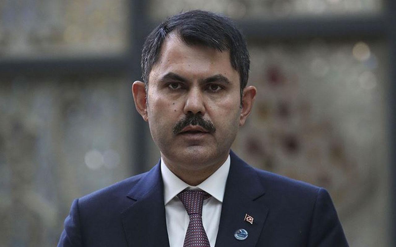 Çevre ve Şehircilik Bakanı Murat Kurum Balıkesir'de incelemelerde bulundu