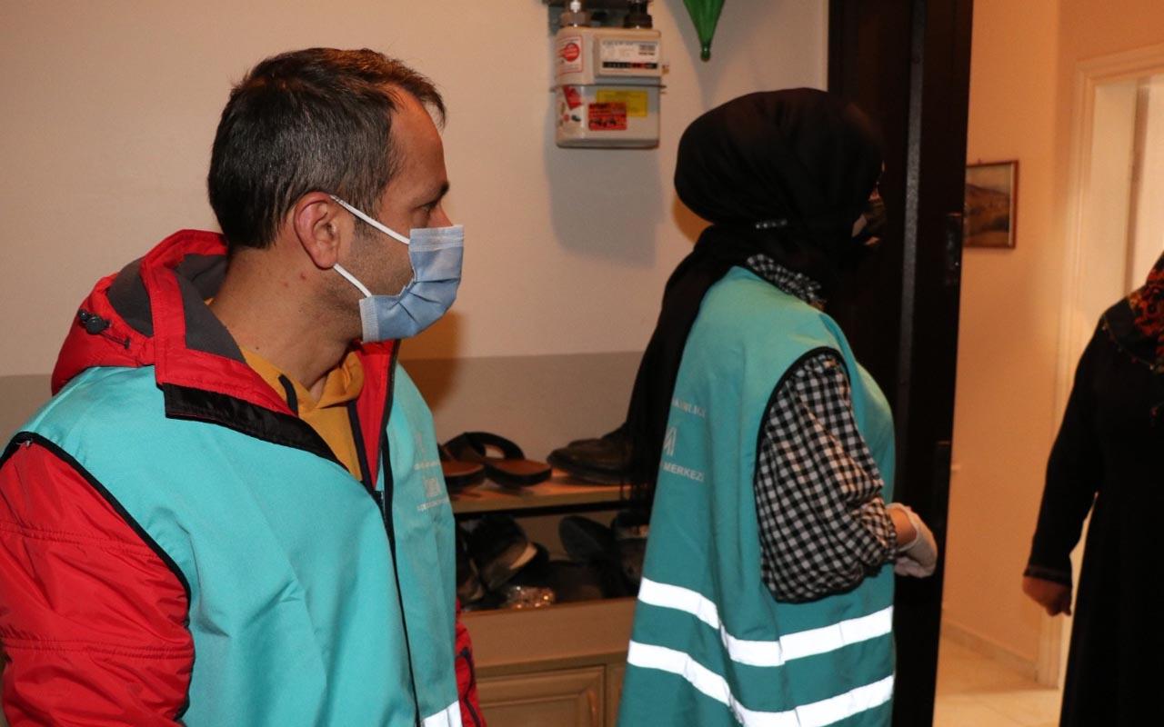 Sultanbeyli filyasyon denetim ekipleri 188 bin 71 hane ziyareti Yaptı