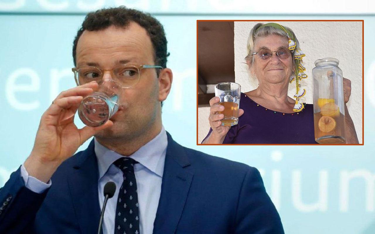 Canan Karatay'a Almanya Sağlık Bakanı'ndan 'gargara' desteği! İspanyol gribinde kullanıldı