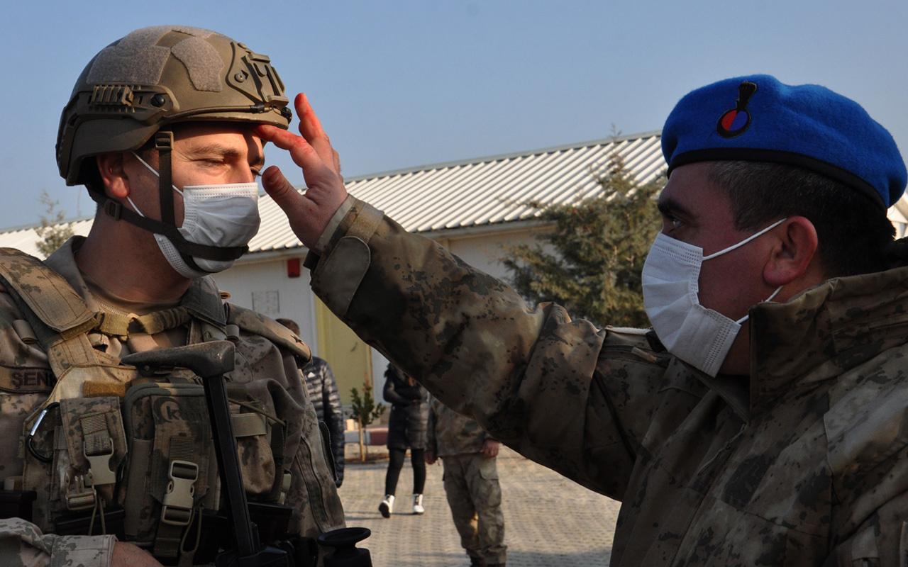 Gaziantep'te 50 komando törenle Suriye'ye uğurlandı! Dualar okundu kurbanlar kesildi