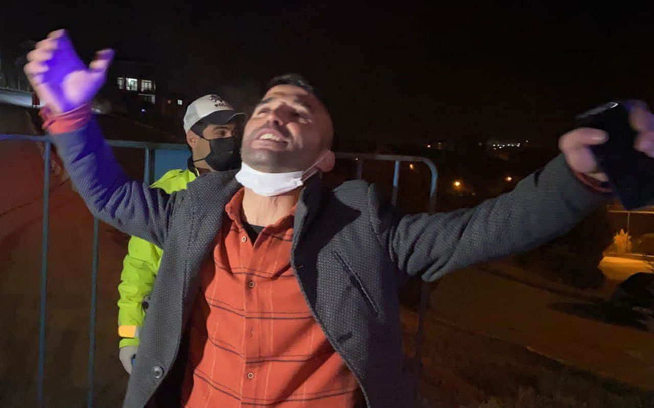 Alkollü araç kullanırken yakalandı cezayı yiyince oynadı! 'Herkes yanlışını bilecek'