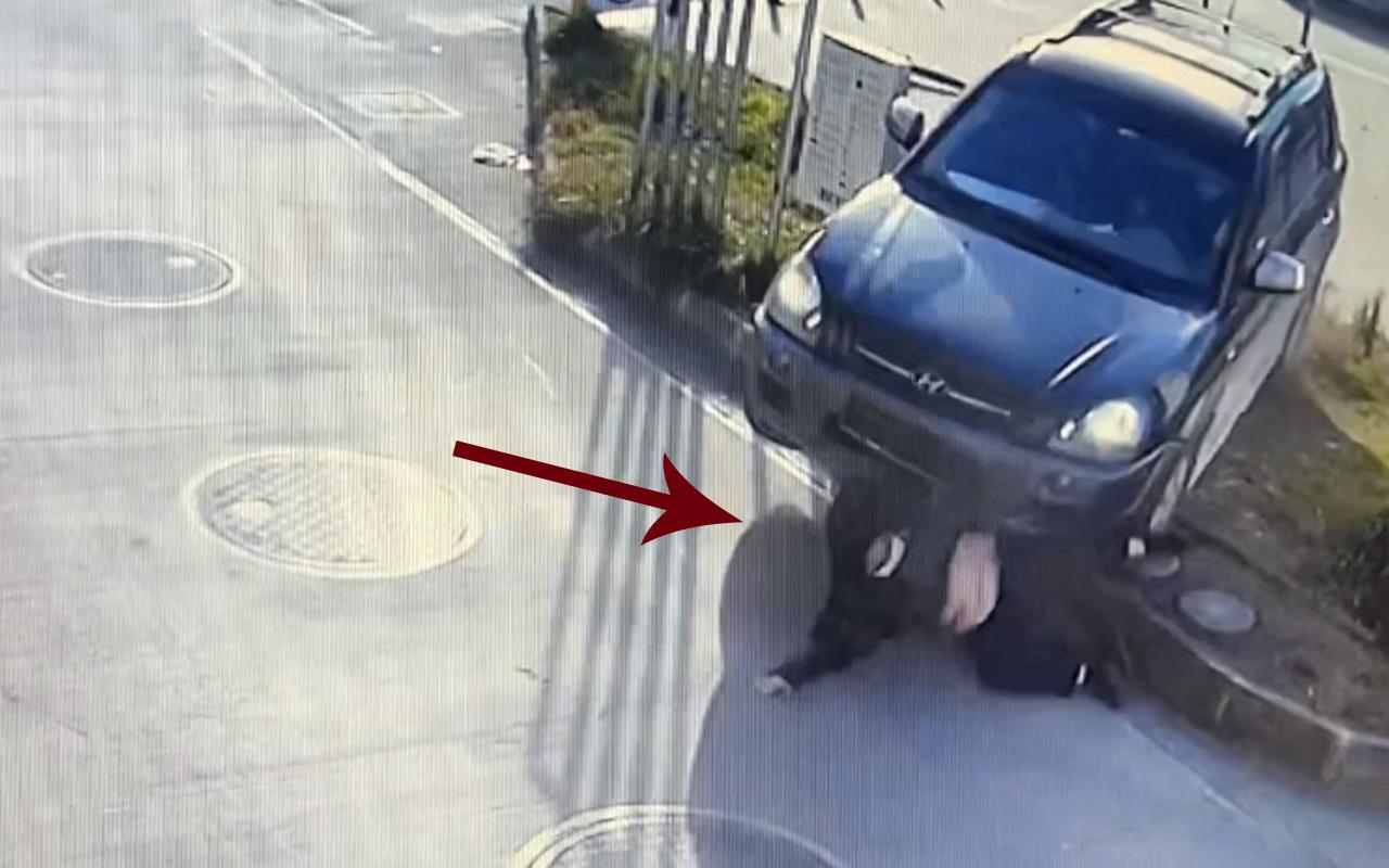 Maltepe'de İranlı kadın feci şekilde can verdi! Otomobilin altında kaldı