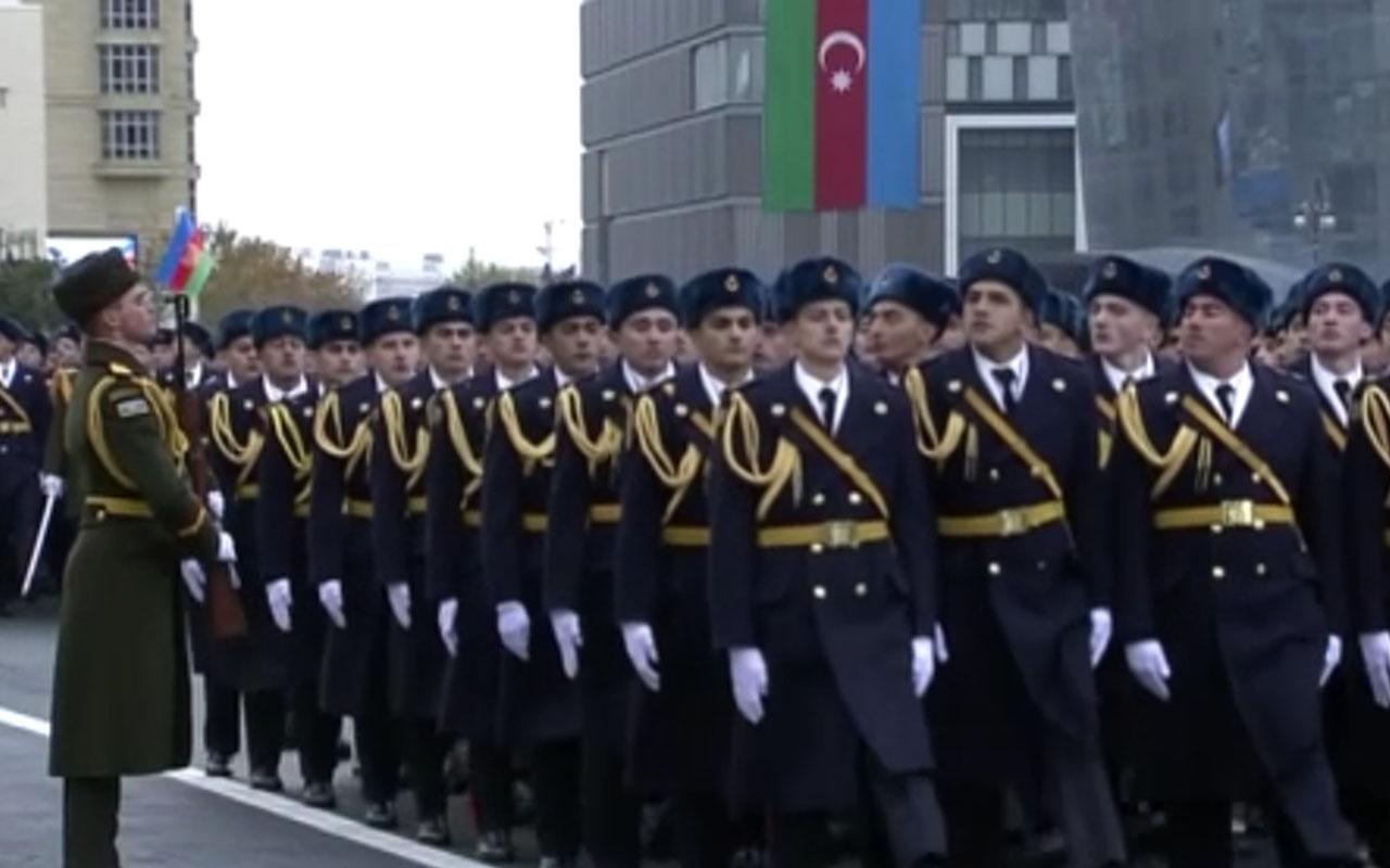 Zafer Geçidi Töreni'nde Ordu Marşı çalındı