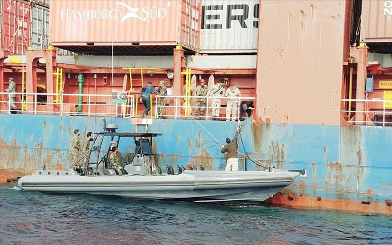 Libya'da darbeci Hafter güçlerince alıkonan Türk gemisi serbest bırakıldı