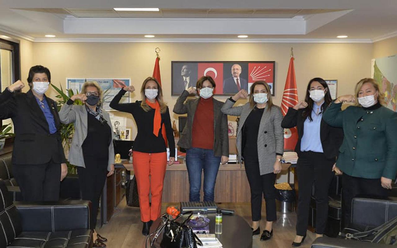 CHP'nin 'Atatürk diyemeyen kadınları' toplandı! CHP'deki tacizlerle ilgili tek kelime etmediler
