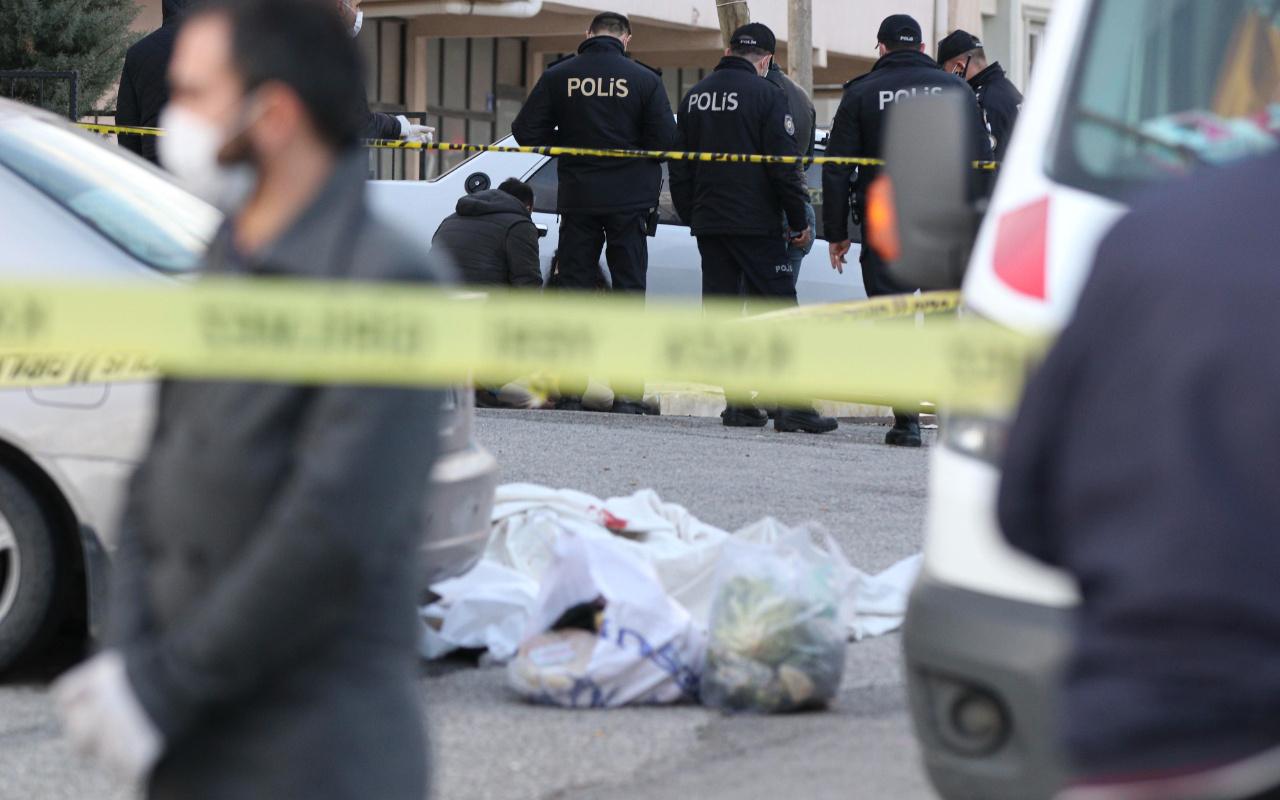 Ankara'da bir kişi tartıştığı kadını öldürüp intihar etti