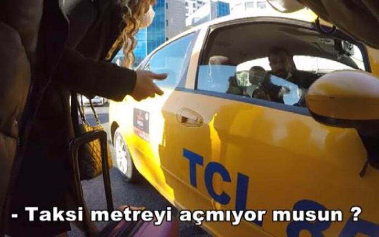 Taksiciler turistleri böyle soyuyor! İBB ekipleri turist kılığına girip hepsini ifşa etti