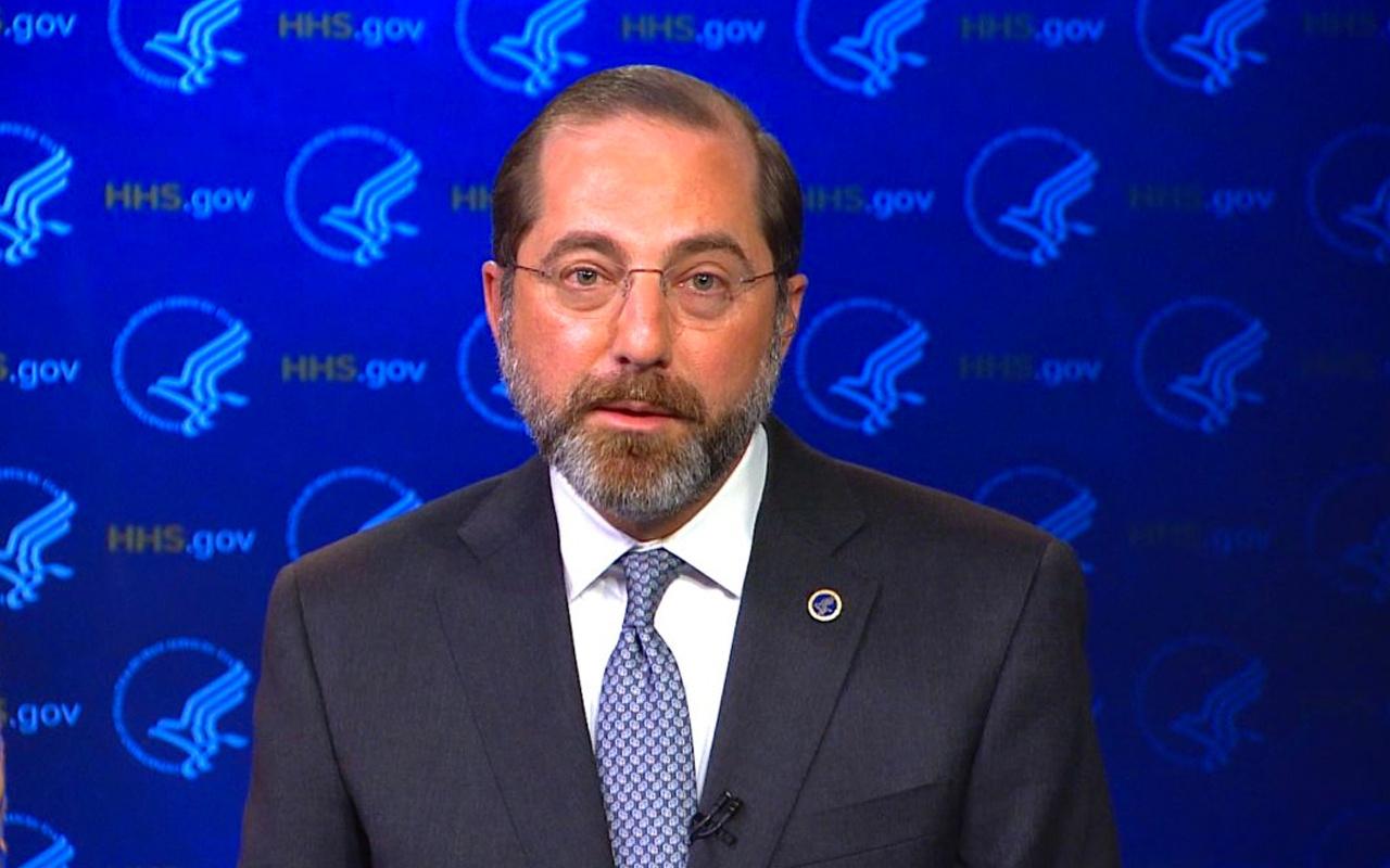 ABD Sağlık Bakanı Alex Azer Pfizer-BioNTech aşısı onayı için tarih verdi