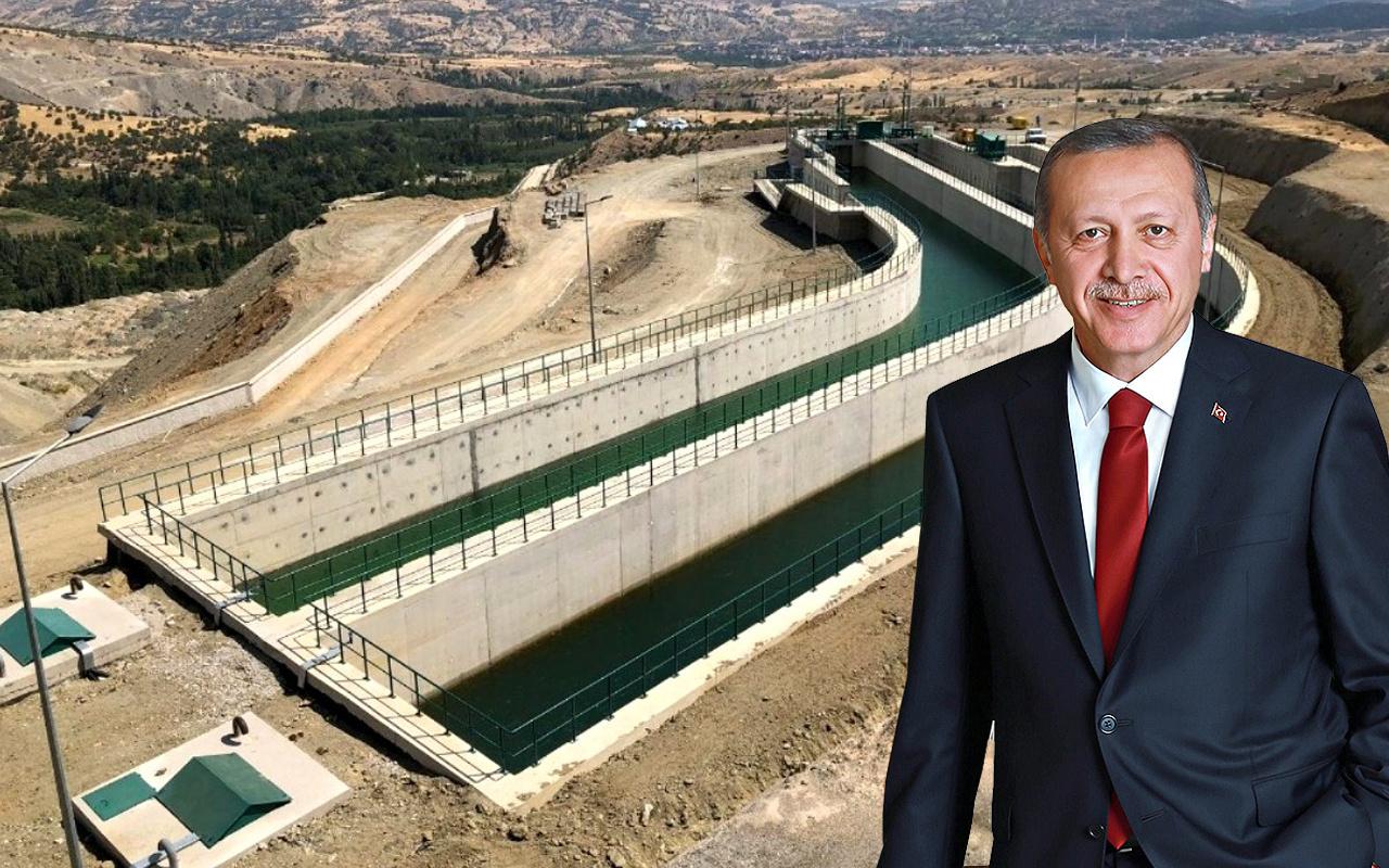Gaziantep'te su sorunu kökten çözülüyor dev! 2 tesis açılıyor Erdoğan da katılacak