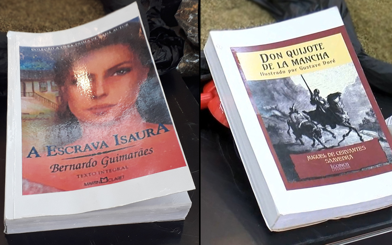 İstanbul'da pes dedirten olay! Bu kitaplara emdirdikleri şeyi öğrenince çok şaşıracaksınız
