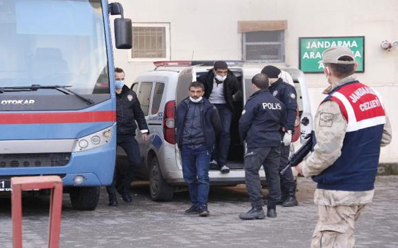 Diyarbakır'da korkunç olay! Kız çocuğunu küpeleri için kaçırmaya çalışan 2 şüpheli tutuklandı