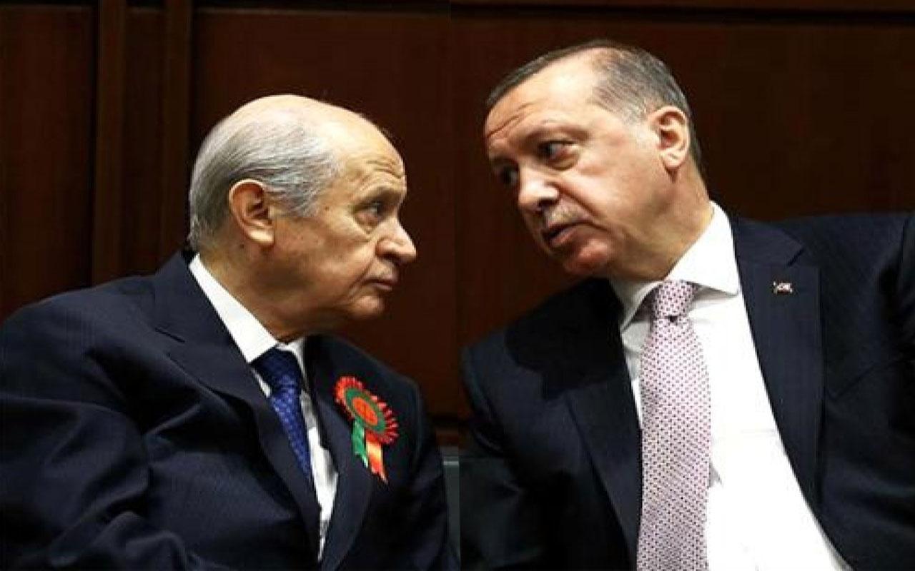 Erdoğan, Devlet Bahçeli ile telefonla görüştü