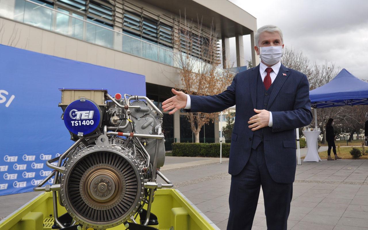 Türkiye'nin ilk milli helikopter motoru TEI-TS1400 Gökbey'e entegrasyon için gün sayıyor