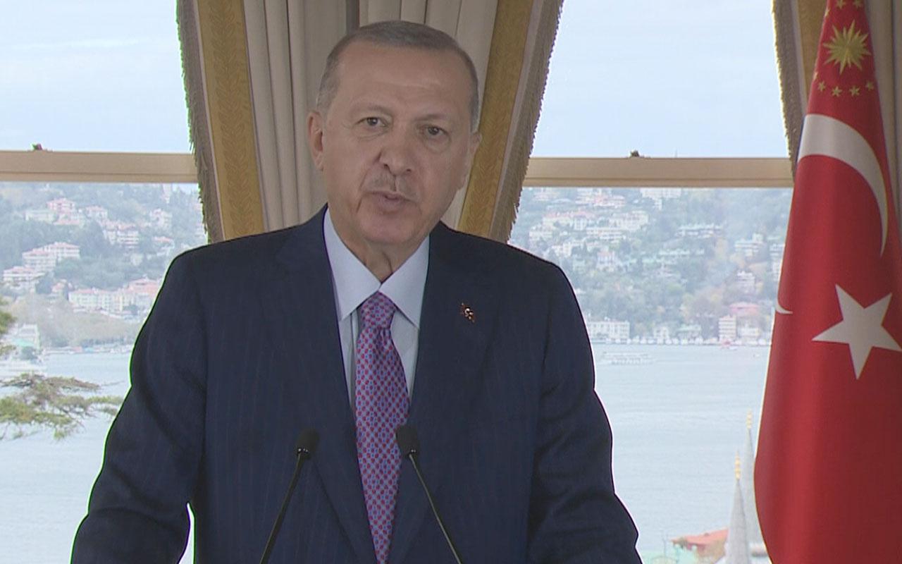 Cumhurbaşkanı Erdoğan'dan Türkmenistan'ın daimi tarafsızlığının 25. yıldönümü mesajı
